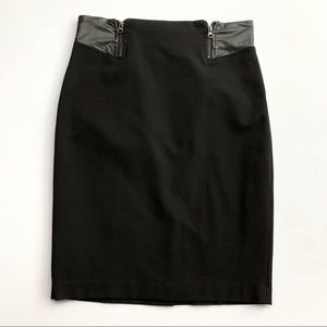 Halogen Pencil Skirt Black Size 10